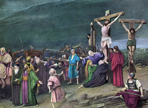 holy week, crucifixion,